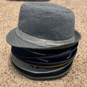 Lot of 6 Zara Fedora Hats